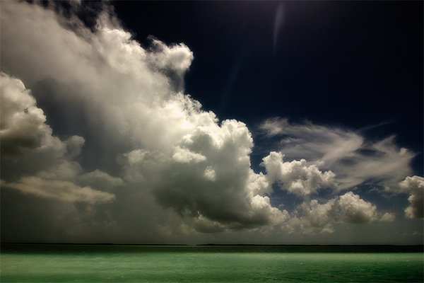 Storm Over The Gulf Waters
